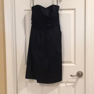 NWOT Navy Limited Strapless Dress